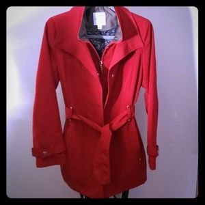 Croft & Barrow Red SZ Small Coat, Jacket